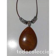 Artesanía: COLLAR PIEDRA NATURAL JASPE ESCÉNICO MODELO 3. Lote 137353946