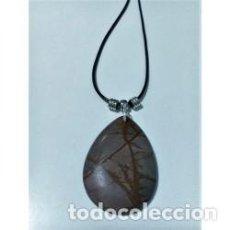 Artesanía: COLLAR PIEDRA NATURAL JASPE MODELO 4. Lote 137354526