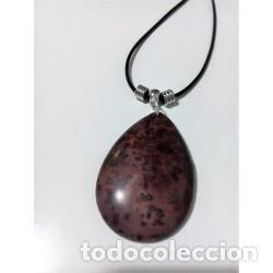 COLLAR PIEDRA NATURAL JASPE MODELO 5 (Artesanía - Collares)