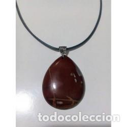 COLLAR PIEDRA NATURAL JASPE MODELO 6 (Artesanía - Collares)