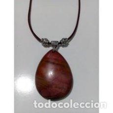 Artesanía: COLLAR PIEDRA NATURAL JASPE PICASSO MODELO 1. Lote 137354998