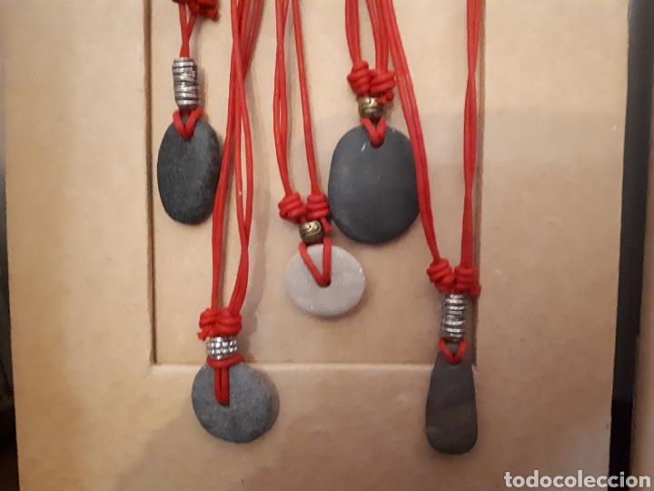 Artesanía: Collar gargantilla piedra mar Oceanía de Janil - Foto 4 - 143604778