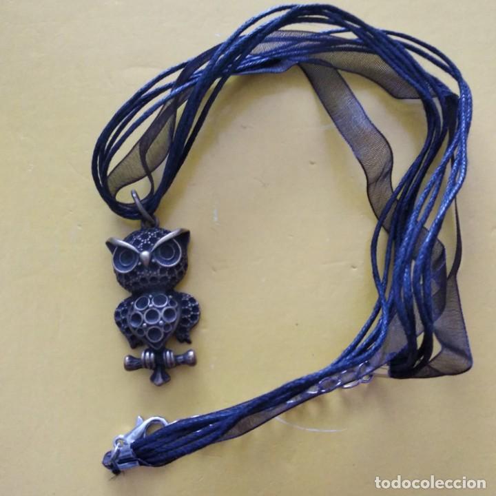COLLAR BUHO (Artesanía - Collares)