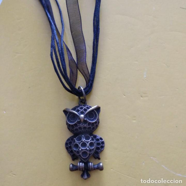 Artesanía: Collar buho - Foto 2 - 187631262