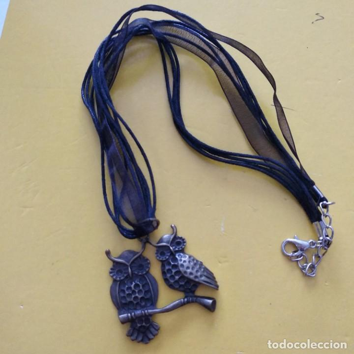Artesanía: Collar pareja de buhos - Foto 2 - 188419437