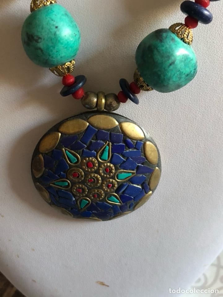 Artesanía: Bonito collar etnico con pedrería - Foto 2 - 167107318