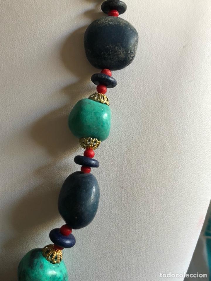 Artesanía: Bonito collar etnico con pedrería - Foto 3 - 167107318