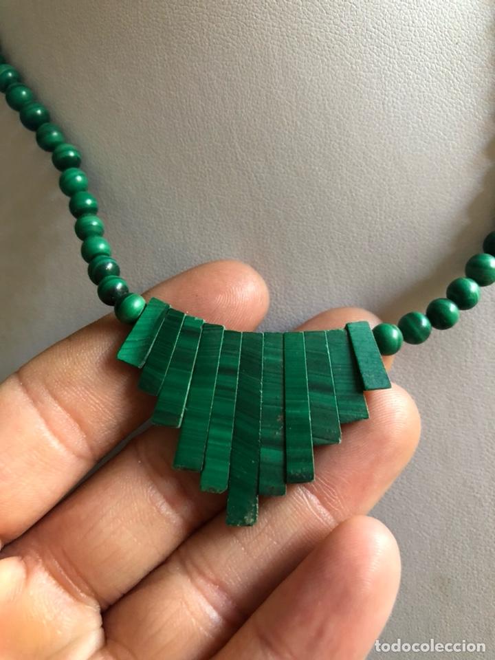 Artesanía: Bonito collar de malaquita - Foto 2 - 167108401