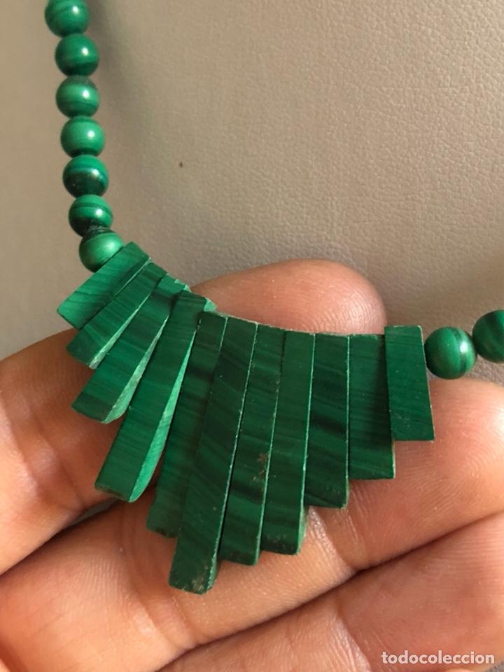 Artesanía: Bonito collar de malaquita - Foto 3 - 167108401