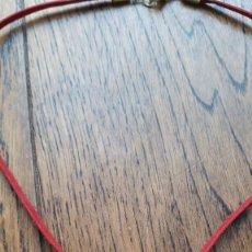 Artesanía: COLLAR DE SEMILLA ARBOL COLOMBIANO. Lote 168201592