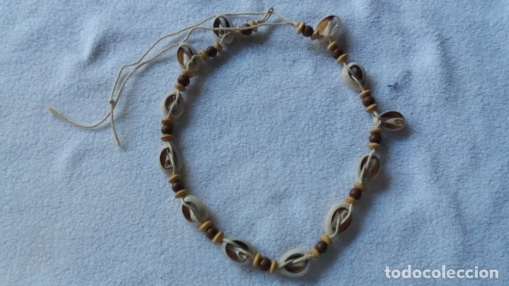 Artesanía: collar gargantilla de conchas naturales - Foto 2 - 172815430