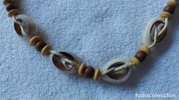 Artesanía: collar gargantilla de conchas naturales - Foto 3 - 172815430