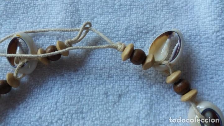 Artesanía: collar gargantilla de conchas naturales - Foto 4 - 172815430
