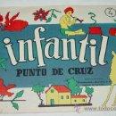 Artesanía: ANTIGUO CATALOGO INFANTIL DE PUNTO DE CRUZ Y FRUNCIDOS - Nº 4 - ABECEDARIO - TIENE 16 PAG - MIDE 22. Lote 8545915