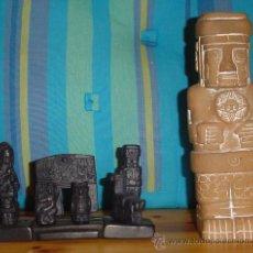 Artesanía: LOTE DE FIGURAS PRECOLOMBINAS. Lote 175817673