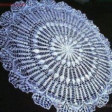 Artesanía: TAPETE REDONDO - 1960 ¡¡ SUPER OFERTA !!. Lote 26346918
