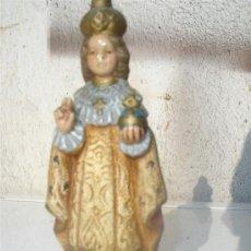 Artesanía: PEQUEÑA ESCULTURA DE TERRACOTA RELIGIOSA. Lote 29177749
