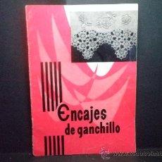 Artesanía: ENCAJES DE GANCHILLO Nº 4 - EDIC. AMELBER 1972. Lote 36545335