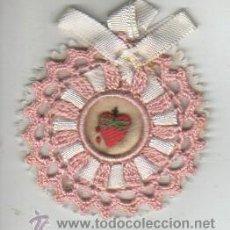 Artesanía: MUY BONITO DE DETENTE SAGRADO CORAZON - HECHO A MANO. Lote 39935760