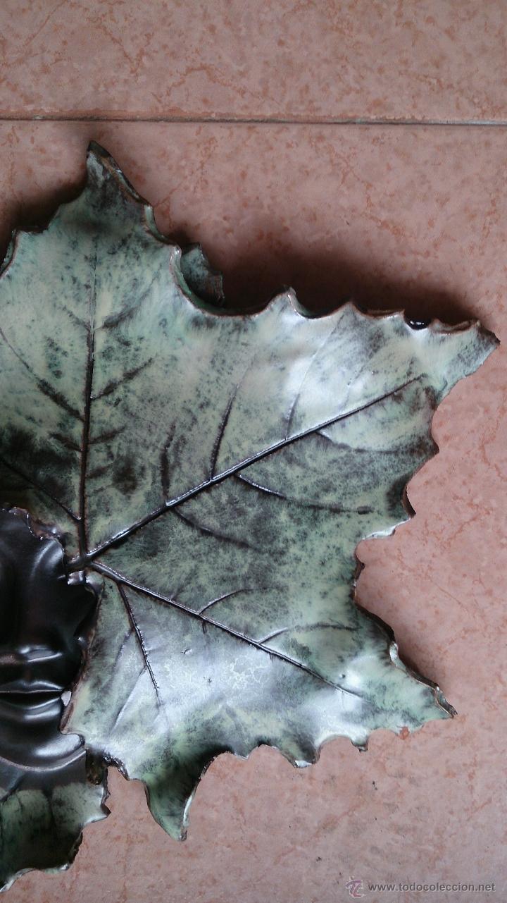 Artesanía: Magnifica mascara en terracota con hojas de parra, hecha a mano . - Foto 12 - 40597192