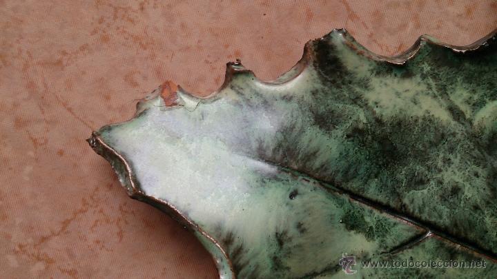 Artesanía: Magnifica mascara en terracota con hojas de parra, hecha a mano . - Foto 21 - 40597192