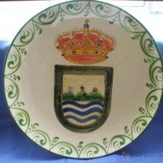 Artesanía: GRAN PLATO,FUENTE DE BARRO,CERAMICA,DE GADOR,ALMERIA PINTADO A MANO.. Lote 151981716