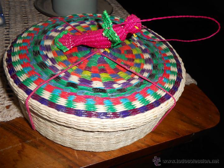 CAJITA -ARTESANIA DE CUENCA (ECUADOR) (Artesanía - Hogar y Decoración)