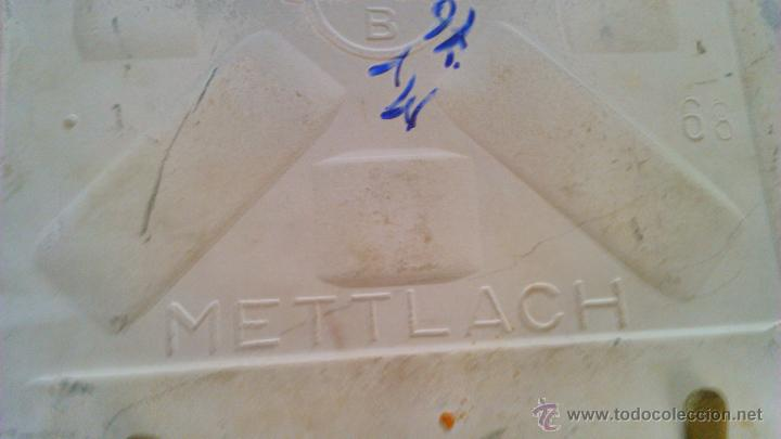 Artesanía: Azulejo enmarcado y pintado a mano. METTLACH MADE IN GERMANY - Foto 4 - 43866129