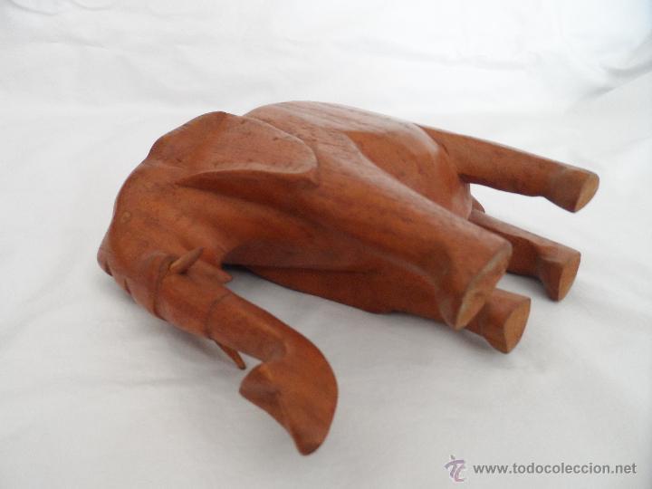Artesanía: PAREJA DE ELEFANTES AFRICANOS - Foto 2 - 43918287