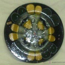 Artesanía: PLATO DECORATIVO DE CRISTAL. Lote 44105744