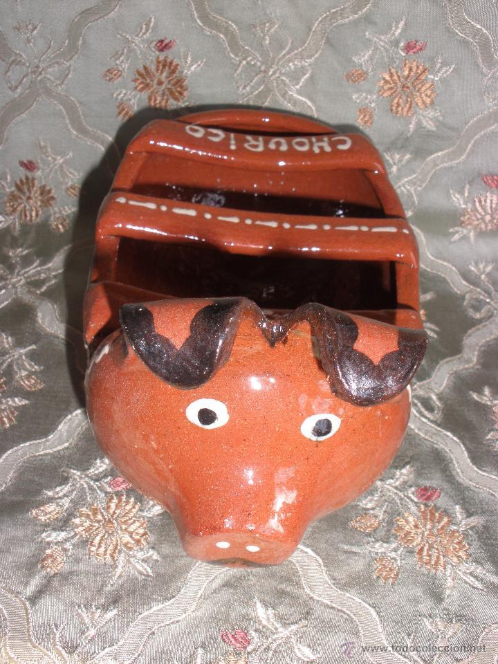 Cerdo ceramica cerdito decoracion ceramica re comprar - Artesania y decoracion ...