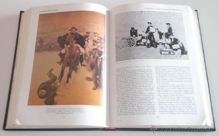 Artesanía: VV.AA. Las Fuerzas Armadas. Historia Institucional y Social. OCHO TOMOS. RM67896. - Foto 7 - 47387841