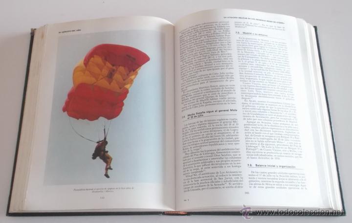 Artesanía: VV.AA. Las Fuerzas Armadas. Historia Institucional y Social. OCHO TOMOS. RM67896. - Foto 8 - 47387841