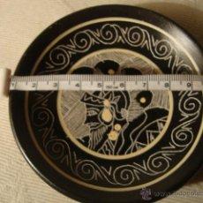Artesanía: PLATO DECORADO, REALIZADO EN TERRACOTA. Lote 47957061