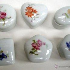 Kunsthandwerk - Juego 6 cajitas de porcelana - 48465367