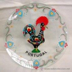 Artesanía: PLATO VIDRIO - RECUERDO DE PORTUGAL. Lote 48522977