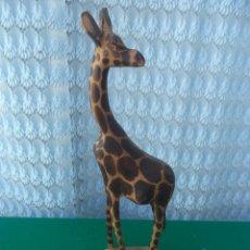 Handicraft - jirafa de madera - 49396214