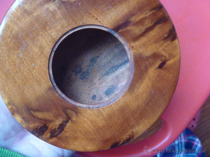 Artesanía: Recipiente madera raiz olivo ideal incienso, especias o hierbas - Foto 3 - 49496988