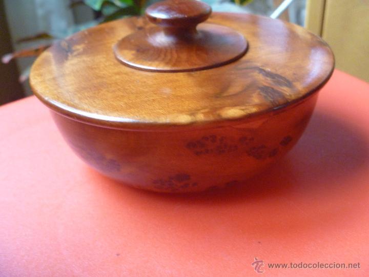 Artesanía: Recipiente madera raiz olivo ideal incienso, especias o hierbas - Foto 5 - 49496988