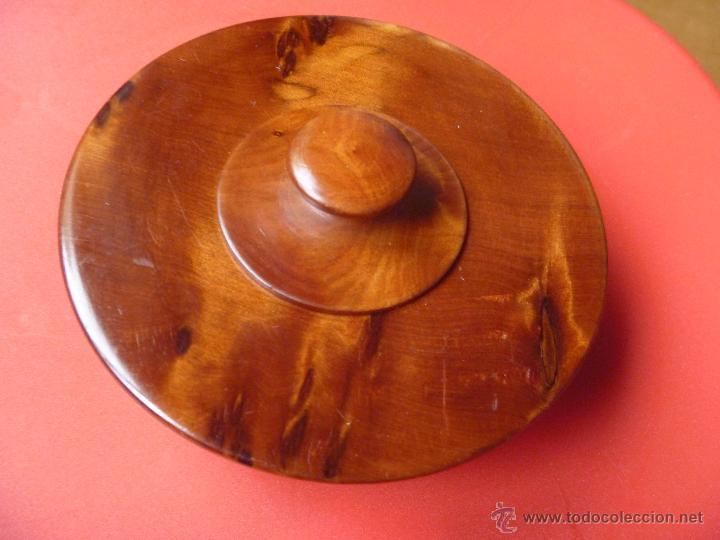 Artesanía: Recipiente madera raiz olivo ideal incienso, especias o hierbas - Foto 6 - 49496988