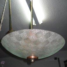 Artesanía: LAMPARA DE TECHO. Lote 49754761