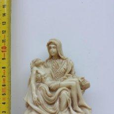 Artesanía: PIEDAD DE MIGUEL ANGEL DE RESINA. RECUERDO DE ITALIA (1970S-1980S). Lote 49870169