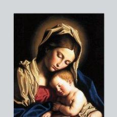 Artesanía: AZULEJO 40X25 DE LA VIRGEN MARIA Y EL NIÑO JESÚS. Lote 103623762