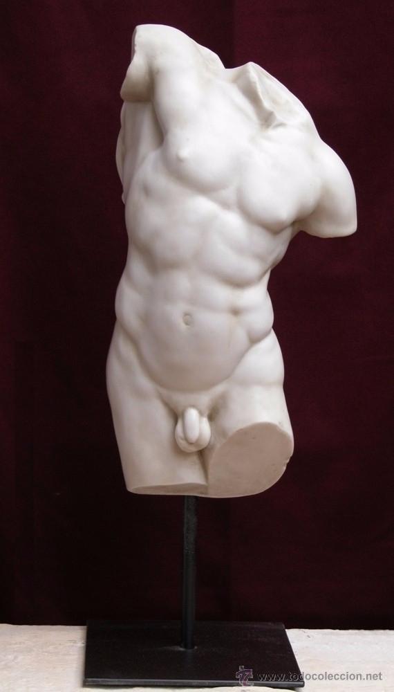 torso de hércules. 18x45x12cm - Comprar Artesania hecha a mano para ...