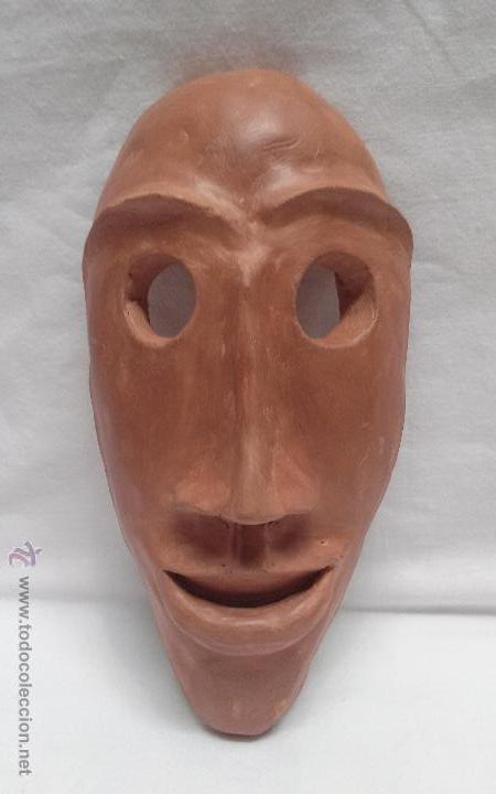 MASCARA DE BARRO COCIDO ARTESANAL (Artesanía - Hogar y Decoración)