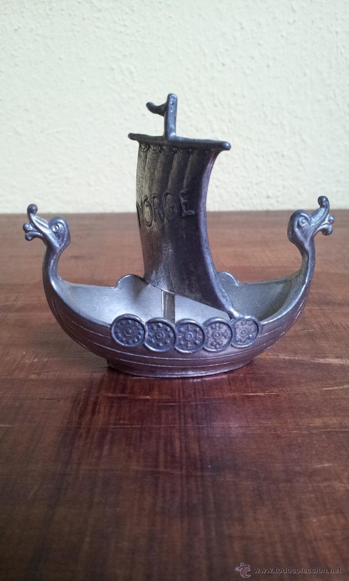 Barco drakkar vikingo de esta o noruega comprar - Artesania y decoracion ...