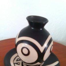 Artesanía: VASIJA Y PLATO DE COLOMBIA. Lote 50979262