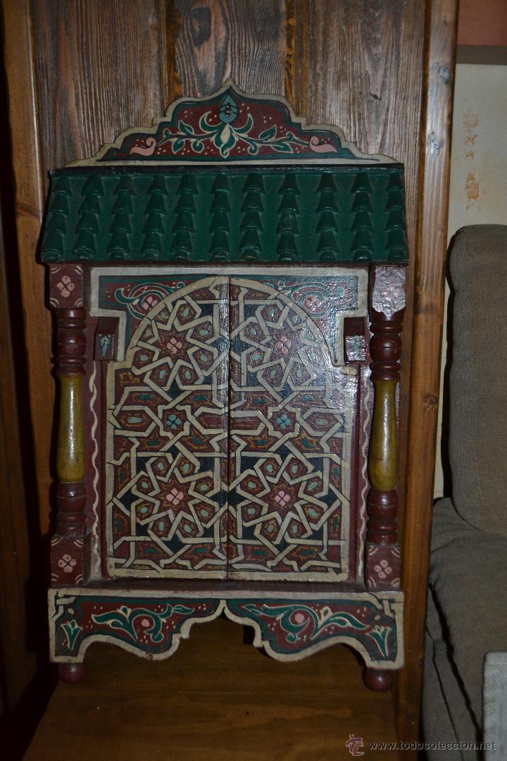 Espejo Artesanía Marroquí Pintado A Mano 55 X 3 Sold Through