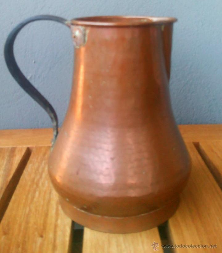 JARRA DE COBRE (Artesanía - Hogar y Decoración)