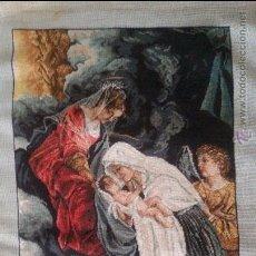 Artesanía: GOBLEN PUNTO DE CRUZ - MOTIVO RELIGIOSO #1707. Lote 51800386